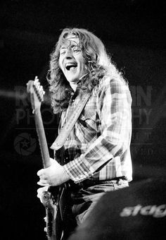 Rory Gallagher. Photography by Ross Halfin.