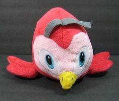 "Red & Pink BIRD National Entertainment Network NEN Plush 10"" Stuffed Toy B163"