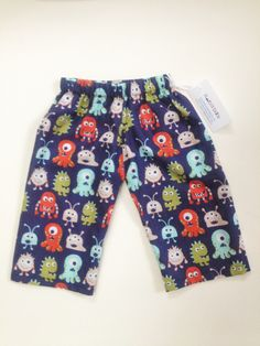 Monsters can be so ADORABLE! Check out these hand made lounge pants for your little one!  harborbabyclothes.ecrater.com