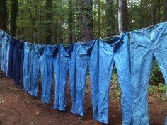 Raleigh Denim hand indigo dyed jeans