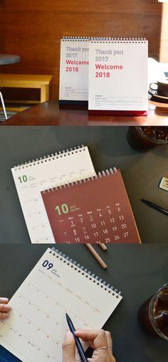 Are you ready to welcome 2018? The 2018 Welcome Calendar is a lovely way to prepare for your 2018! By simply placing this colorful calendar on your desk, your place will be brightened up! You can also write your plans and memos on the monthly plan pages to make your 2018 more productive!