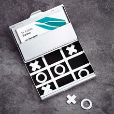 Business Card Holder and Game