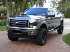 2013 ford f150 fx4 lifted - Google Search