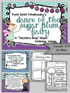 MYSTERY SONG MUSIC LISTENING: BUNDLE #2 - TeachersPayTeachers.com