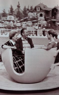 Teacups with Walt        can we just point out how classy they look…