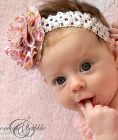 12 Adorable Baby Girl headbands YOU can make! 12 Adorable Baby Girl headbands YOU can make! - Six Clever Sisters 12 Adorable Baby Girl headbands YOU can make! 12 Adorable Baby Girl headbands YOU can make! - Six Clever Sisters Make Baby Headbands, Fabric Flower Headbands, Handmade Headbands, Newborn Headbands, Baby Bows, Fabric Flowers, Little Girl Headbands, Handmade Baby, Baby Headband Tutorial