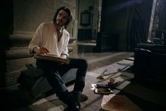 Richard Madden as Cosimo de' Medici - Masters of Florence Richard Madden, Series Movies, Tv Series, Medici Masters Of Florence, Lotr, Cute Guys, Beautiful Men, Actors, 3