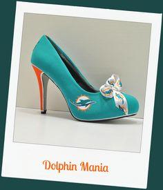 "Miami Dolphins heel ""Dolphins Mania"""