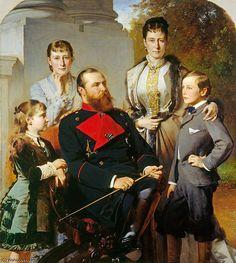 La familia del Gran Duque de Hesse