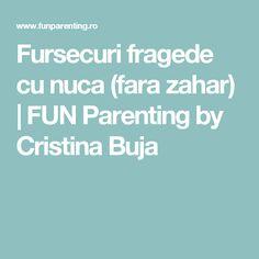 Fursecuri fragede cu nuca (fara zahar) | FUN Parenting by Cristina Buja