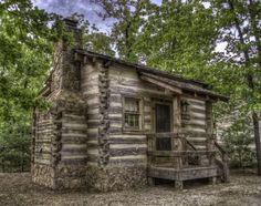 'a delightful little cabin', by rreedpc. The Wilderness near Silver Dollar City in Branson, Missouri.