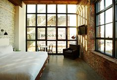 New York, Wythe Hotel, Williamsburg, Brooklyn