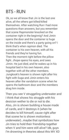 All these theories! Idk if I can handle anymore