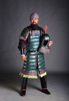 http://flabergastertron.tumblr.com/post/147570618893/sino-archives-tang-dynasty-lamellar-armor