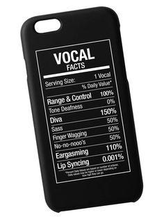 Vocal Fact Case