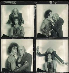 Tim Curry and Richard O'Brien RHPS