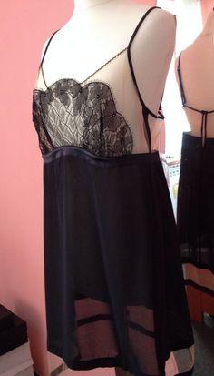 d6ac4c3816 LA PERLA Shanghai Black Sheer Lace