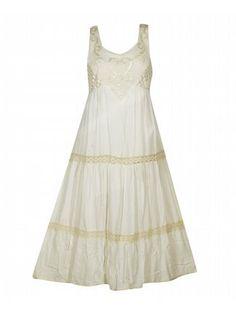 Off White Maxi Dress