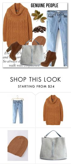 """""""GENUINE PEOPLE"""" by amra-mak ❤ liked on Polyvore featuring Maison Margiela, women's clothing, women, female, woman, misses, juniors and Genuine_People"""