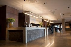 New Framed collection by Jasper van Grootel already lighting up the reception at the Van der Valk hotel in Enschede, Netherlands