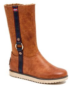 Loving this Tan Stripe Boot on #zulily! #zulilyfinds