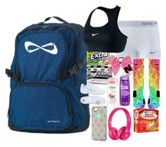 What S In My Cheer Bag By Breelynrenee Liked On Polyvore Featuring Nike