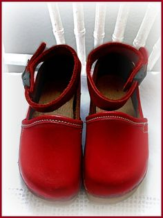 Swedish baby clogs
