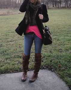 all I need for an outfit like this is a pretty scarf :)