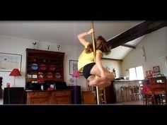▶ Pole Dance Tutorial ~ Baby Snake ~ Beginner - YouTube