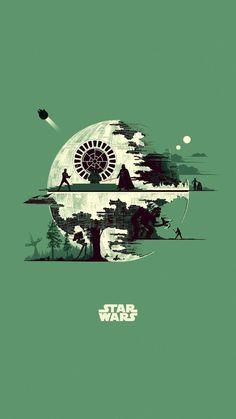 Star Wars Droides, Star Wars Fan Art, Star Wars Poster, Tableau Star Wars, Images Star Wars, Cuadros Star Wars, Darkhorse Comics, Star Wars Painting, Star Wars Tattoo