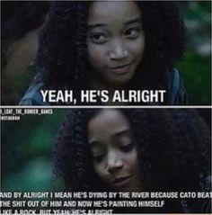Lol haha funny / Hunger Games Humor / Rue