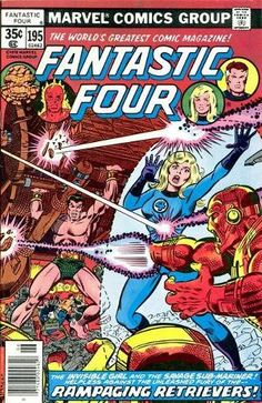 Fantastic Four Series) 195 Marvel Comics Modern bronze copper Age Comic book covers Super Heroes Villians Sue Storm Reed Richards The Thing Human Torch Fantastic Four 4 FF Fantastic Four Logo, Fantastic Four Comics, Mister Fantastic, Comic Book Artists, Comic Book Characters, Marvel Characters, Comic Character, Comic Books For Sale, Marvel Comic Books
