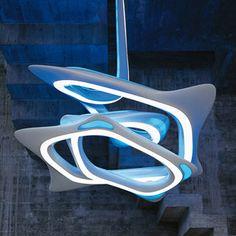 Zaha Hadid Sculptural Hanging Lamp
