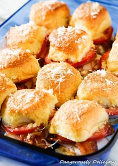 Kentucky Hot Brown Sliders - The Girl Who Ate Everything