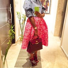 It's starting to seem like I'm a bit obsessed with Lisa Folawiyo but why wouldn't I be when she keeps making my heart skip with her choice fashion pieces and style. Choice Fashion, Monday Morning, Slay, Grateful, Lisa, Style Inspiration, Rock, Chic, My Style