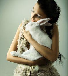 rabbit no name by alex no fio, via 500px