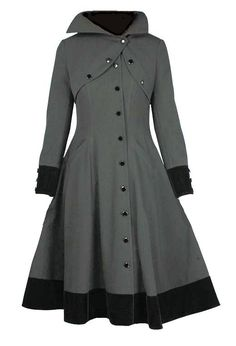 Gray Film Noir Trenchcoat