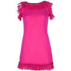 CHARLOTT fringe dress found on Polyvore