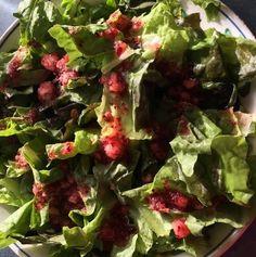 Recipe: Cranberry Vinaigrette | Think Tasty #recipe #cranberries #salad #homemade