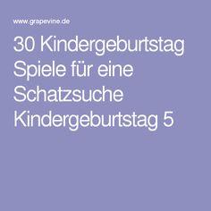 30 Kindergeburtstag Spiele für eine Schatzsuche Kindergeburtstag 5