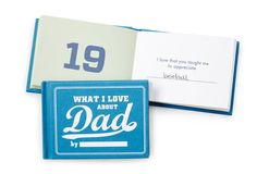 Dad Memory Book | Fathers Day Gift Ideas