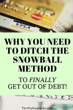 Why you shouldn't use the snowball method and instead pay down debt based on which have the highest interest rates. How to get out of debt and pay down bills when living paycheck to paycheck. Frugal living advice for those who want to find financial freedom. Save money and get out from under your debts. Federal Student Loans, Student Loan Debt, Pay Debt, Debt Payoff, Financial Guru, Income Tax Return, Debt Snowball, Tax Refund, Get Out Of Debt