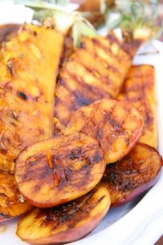 NOMU is an original South African food and lifestyle concept by Tracy Foulkes. Grilled Fruit, South African Recipes, Fruit Recipes, Vegetable Dishes, Sweet Potato, Grilling, Brunch, Potatoes, Vegetables