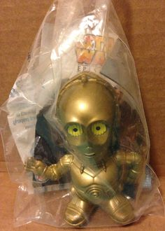 2005 Burger King Kids Meal Star Wars Episode III ROTS C3PO Toy