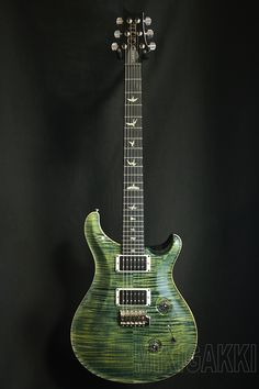 PRS[Paul Reed Smith ポールリードスミス] Custom24 10Top PR Korina Neck/Ebony FB Leprechaun Tooth(2014Model)|詳細写真