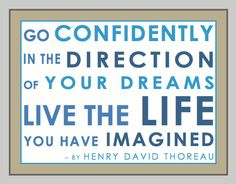 Inspirational Quote Printable by Henry David Thoreau