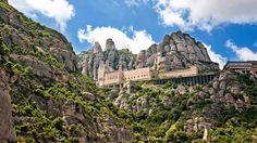 The Benedictine abbey of Santa Maria de Montserrat, Spain.
