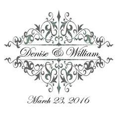 Single Monogram Wedding Design  Add-On  purchased by ArtisanAisles #wedding #weddingideas #weddingtrends