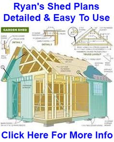 Learn More About Garden Shed Plans at http://gardenshedplansonline.com/my-shed-plans