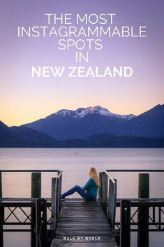 New Zealand has to be one of the most photogenic countries in the world, it's an instagrammers dream. Here is our guide to the most instgrammable spots in New Zealand.